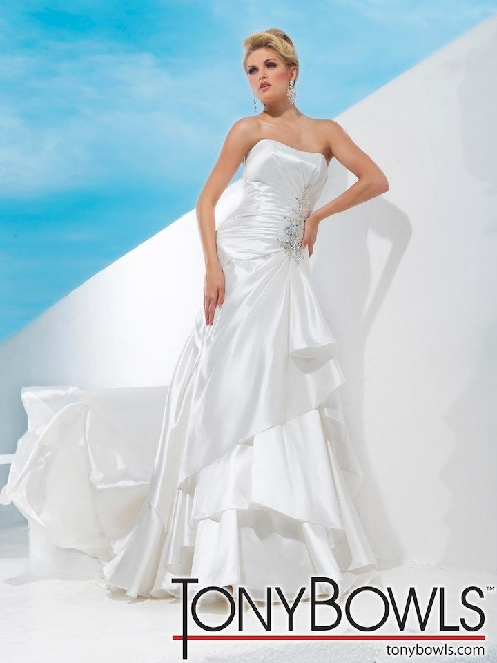 Tony Bowls T112242 Wedding Dress Tradesy Weddings