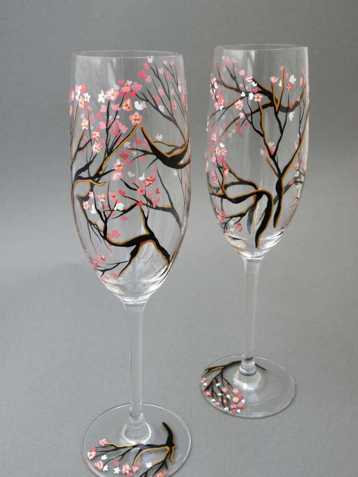 Love on pinterest cute anime couples anime couples and for Hand painted glassware