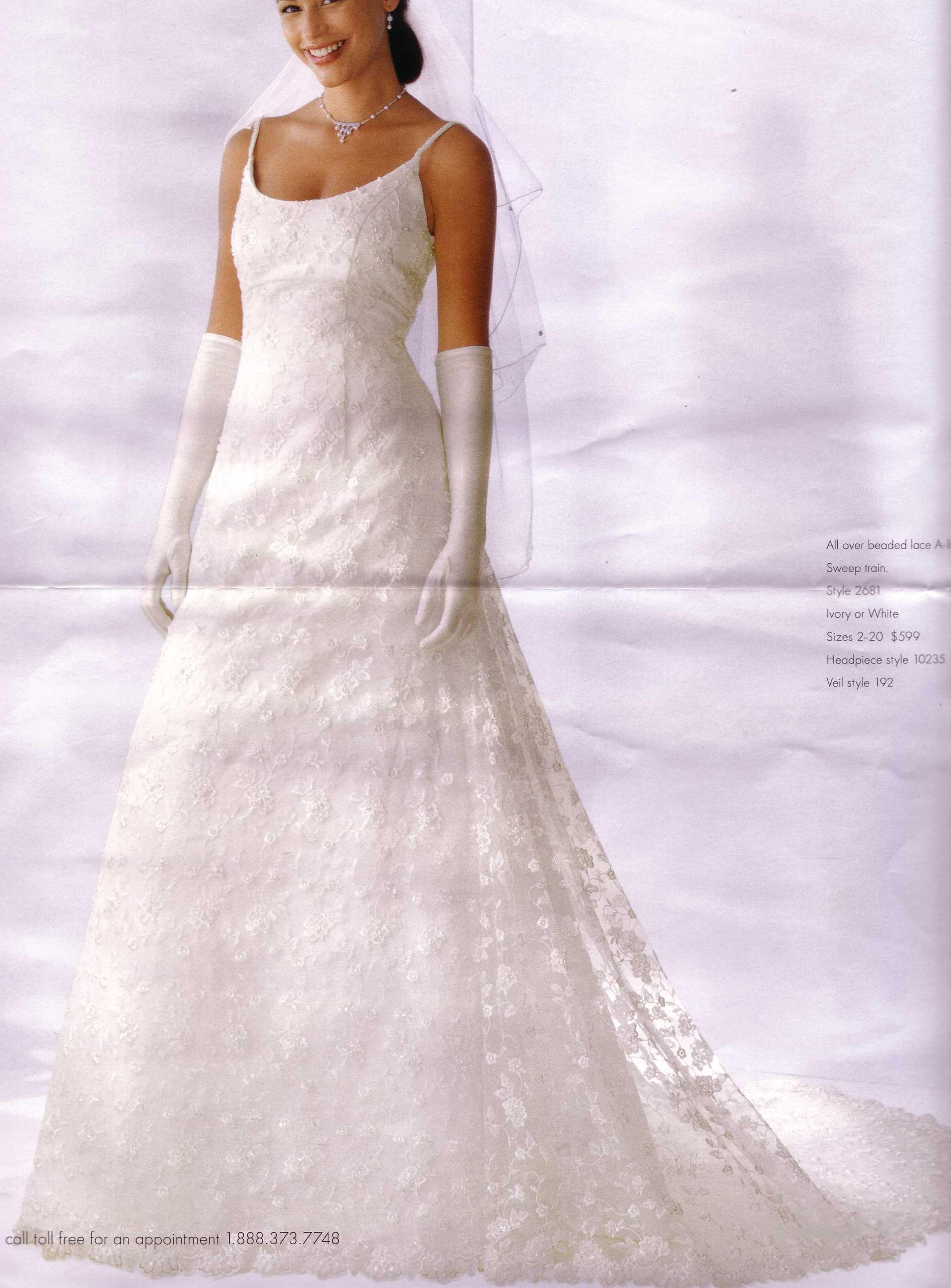 2006 Olga Cassini Wedding Dresses - Pics about space