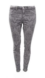 J Brand With Floral Design Capri/Cropped Denim
