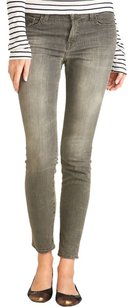 J Brand Designer Ankle Skinny Jeans-Medium Wash
