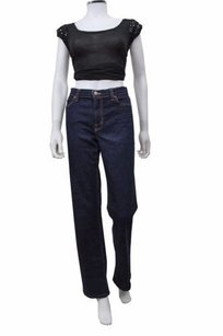 J Brand Dark Wash High Rise Flare Leg Jeans