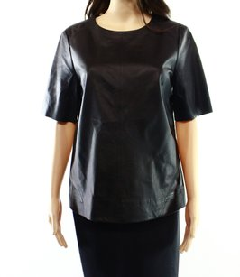 J Brand Leather New With Tags Top
