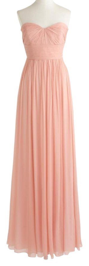 J Crew Marbella Silk Dress in Dusty Rose