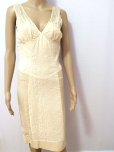 Ivory Maxi Dress by J. Mendel Paris Color Silk Chiffon