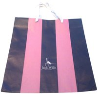Jack Wills Jack Wills pink & blue shopping tote