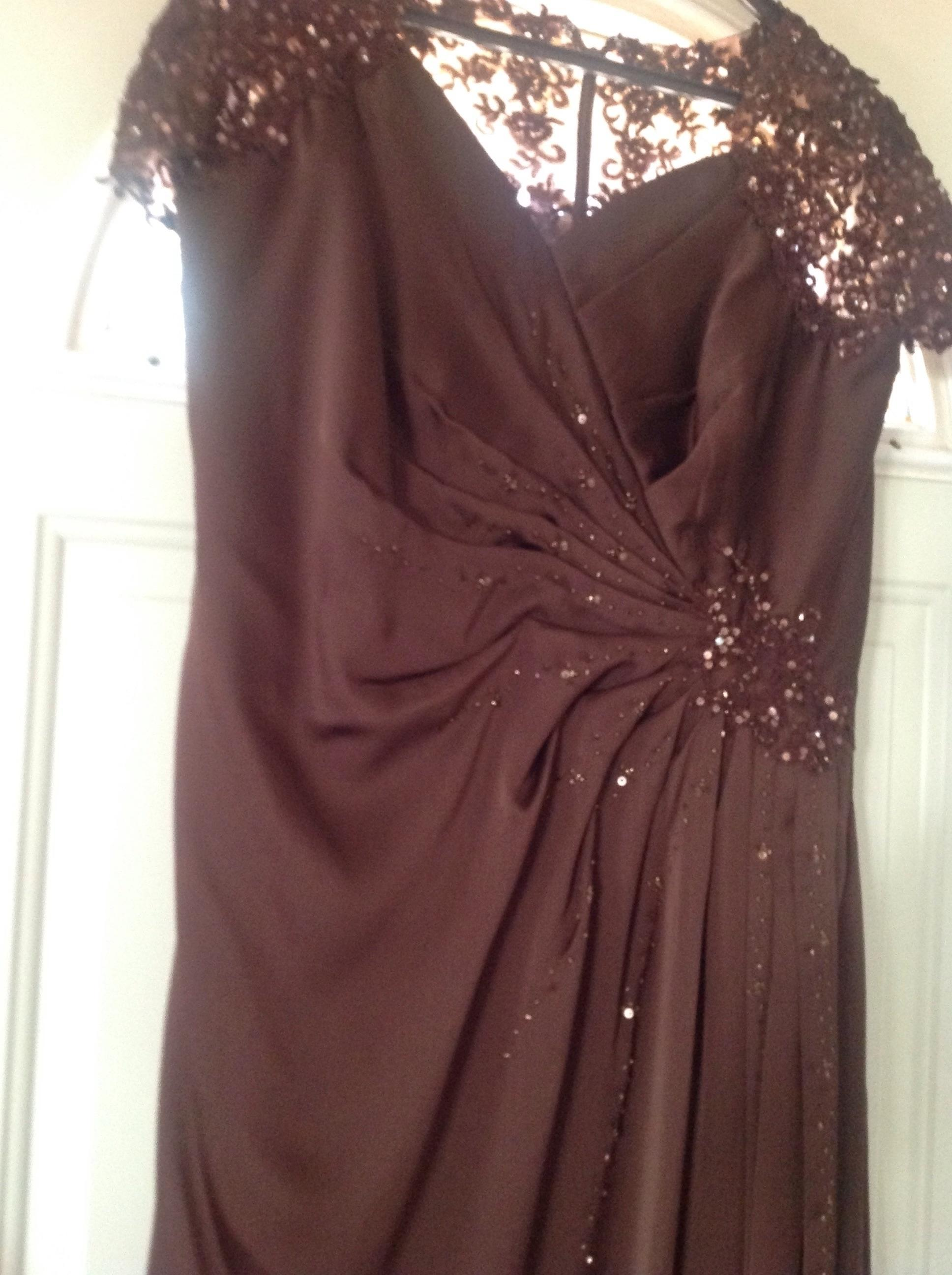 Brown Dress Size 16