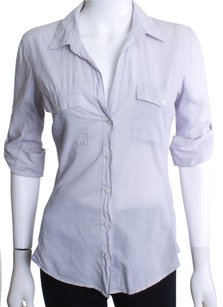 James Perse Button Down Shirt DOVE GRAY