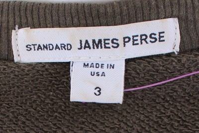 James Perse Green Ribbed Cocoon Cardigan