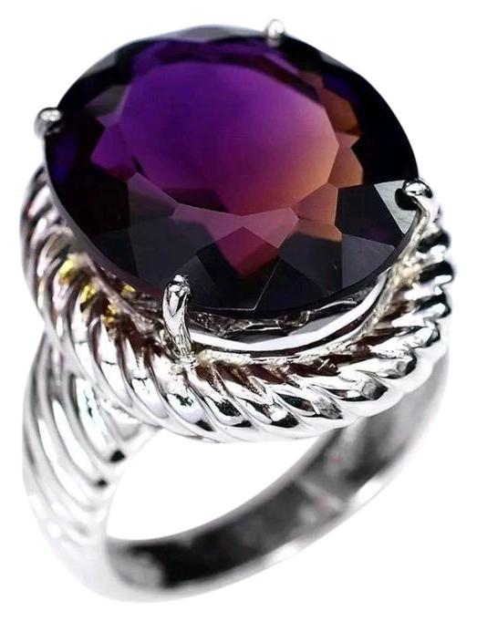 Jared White Gold ToneSilver Purple Rainbow 38 Carat Cable Color