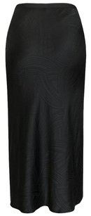 Jason Wu Textured Silk Maxi Skirt Black