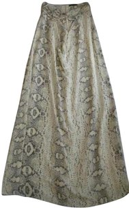Multi-Color Maxi Dress by Jay Godfrey Womens Snake Print Maxi Strapless