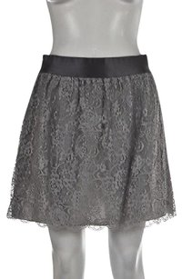 J.Crew J Crew Womens Floral Skirt Gray