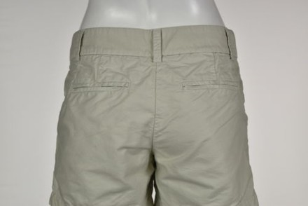 J.Crew J Crew Womens Khaki Casual Shorts Bermuda Cropped Cotton Trousers 50%OFF