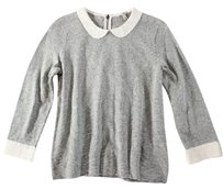 J.Crew Crew Gray Heather Jg Sweater