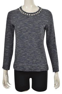 J.Crew J Crew Womens Blue Crewneck Sweater