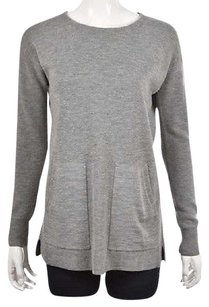 J.Crew Womens Crewneck Speckled Wool Casual Shirt Sweater