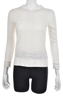 J.Crew Womens Crewneck Textured Long Sleeve Cotton Sweater
