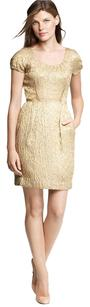 J.Crew Metallic Jacquard Sheath Dress