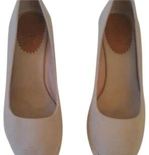 J.Crew nude Wedges