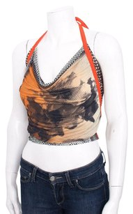 Jean-Paul Gaultier Jean Paul Vtg Multi Multi-Color Halter Top
