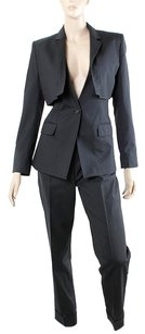 Jean-Paul Gaultier Jean Paul Gaultier Suits - Black Wool Three Piece Pant Suit