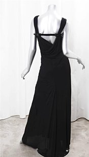 Black Maxi Dress by Jean-Paul Gaultier Jean Paul Gaultier Womens Sleeveless Buckle 640