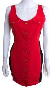 Jean-Paul Gaultier short dress Red Vintage on Tradesy