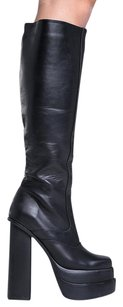 Jeffrey Campbell 150722 Blocked Black Boots