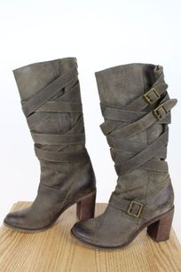 Jeffrey Campbell Womens Taupe Boots