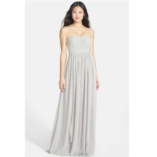 Jenny Yoo Dove Grey Dress