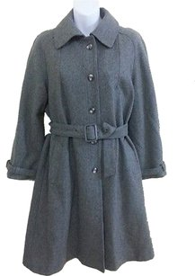 Jensen Denmark Wool Belted Trench Coat