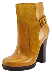 Jessica Simpson Womens Dark Camel Tan Boots