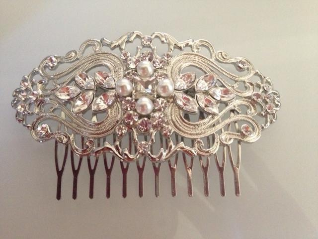Jeweled Comb JudisCrystal