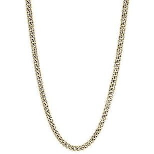 Jewelry For Less Genuine Diamond Miami Cuban Chain 2.75 Ct 10k Yellow Gold 6mm Inch Necklace