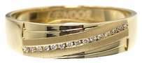 Jewelry Unlimited 14k,Yellow,Gold,Mens,Round,Diamond,Machine,Set,Wedding,Comfort,Fit,Band,Ring,6mm