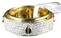 Jewelry Unlimited 14k,Mens,Womens,Yellow,Gold,Diamond,Wedding,Designer,Round,Band,Ring,34,Ct