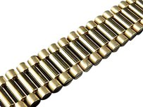 Jewelry Unlimited Mens,10k,Yellow,Gold,Solid,Link,Designer,8,Inch,Bracelet,18,Mm