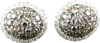 Jewelry Unlimited 10k,Ladies,Yellow,Gold,Brown,Cognac,Diamond,Round,Dome,Studs,Earrings,2.31,Ct