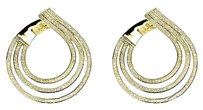 Jewelry Unlimited 10k,Yellow,Gold,Ladies,1.4,Inch,Round,Diamonds,Teardrop,Fashion,Earrings,2,Ct