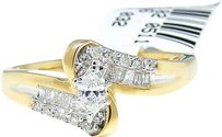 Jewelry Unlimited 14k,Yellow,Gold,Marquise,Cut,Engagement,Bridal,Solitaire,Band,Diamond,Ring,0.27