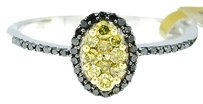 Jewelry Unlimited Ladies,10k,White,Gold,Round,Cut,Canary,Diamond,Oval,Engagement,Fashion,Ring