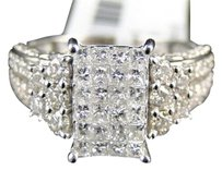 Jewelry Unlimited 14k,Ladies,Si,Princess,Diamond,Invisible,Raised,Engagement,Wedding,Ring,2.1,Ct