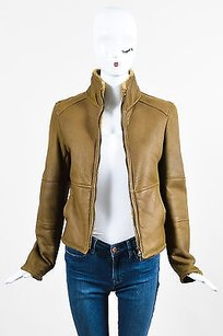 Jil Sander Green Brown Jacket