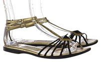 Jimmy Choo Womens Black Ankle Multi-Color Sandals