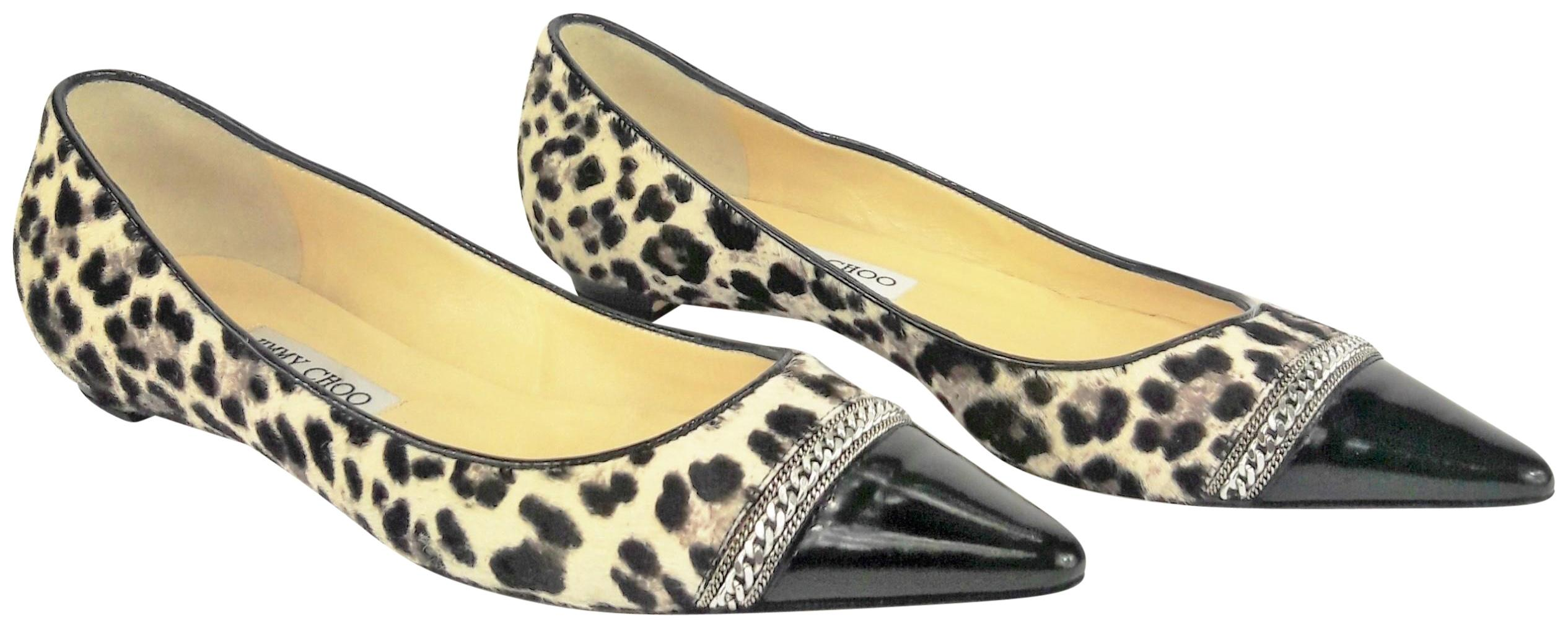 free shipping pre order Jimmy Choo Ponyhair Cap-Toe Flats cheap many kinds of cheap best sale largest supplier dIJTi389jQ
