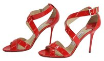 Jimmy Choo blood orange Sandals