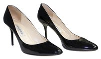 Jimmy Choo Patent Black Pumps