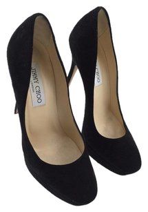 Jimmy Choo Suede Black Pumps