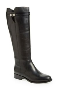 Jimmy Choo Hyson Riding Boot Black Boots